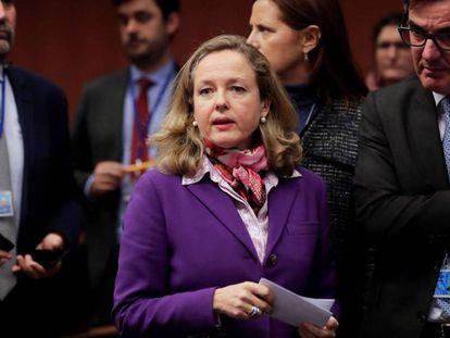 Deputy PM and Economy Minister Nadia Calviño.