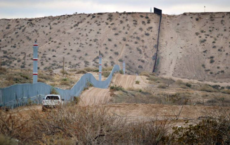 Around a third of the border is already shielded by fencing.