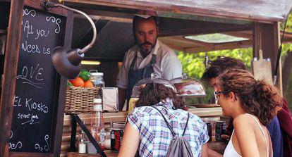 El Kiosko is one of Spain's food truck pioneers.