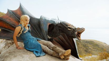 A scene from HBO's hit show 'Game of Thrones.'