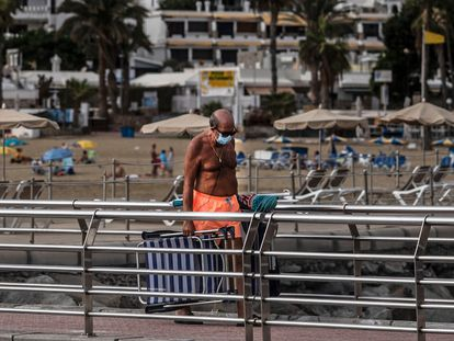 Puerto Rico beach in Las Palmas de Gran Canaria on October 27.