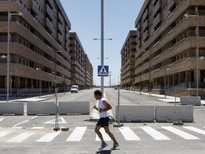 """The Sareb """"bad bank"""" has earmarked 103 million euros for demolitions of unfinished housing."""