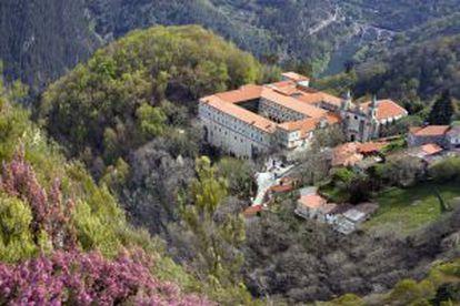 The monastery of Santo Estevo.