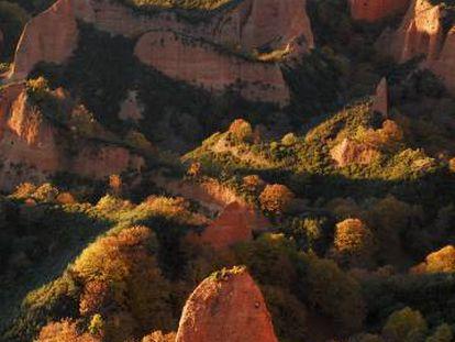 Las Médulas in El Bierzo (León).