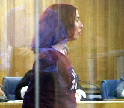 Inés del Río pictured in court in Madrid in 2006.