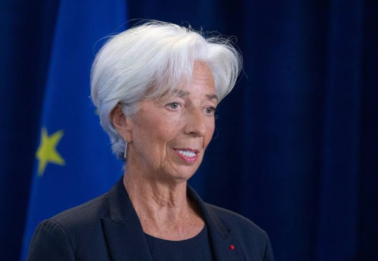 BCE chief Christine Lagarde.