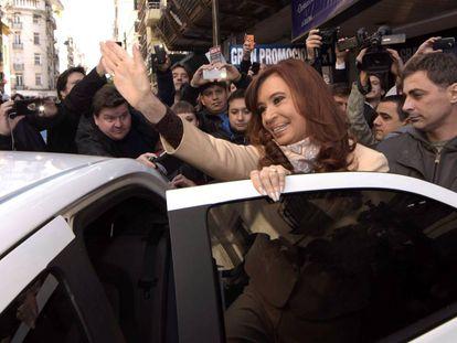 Former Argentinean president Cristina Fernández de Kirchner.