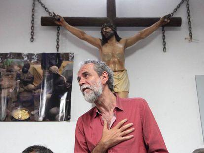 Spanish actor and activist Willy Toledo.
