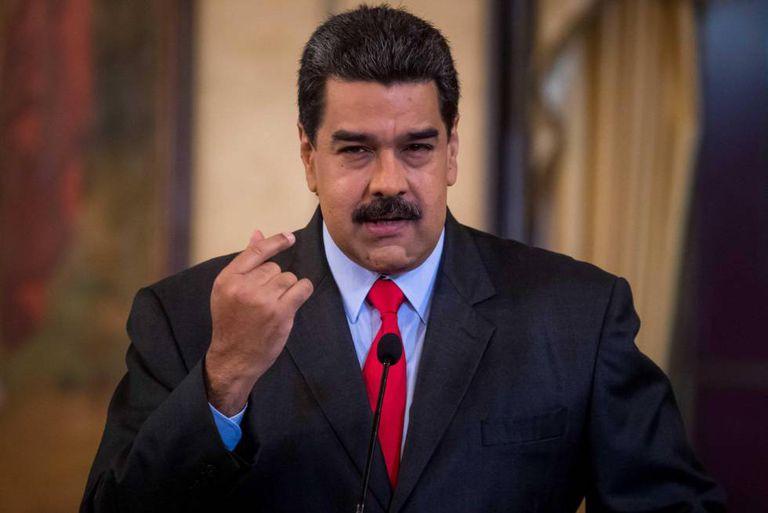 Venezuelan president, Nicolás Maduro.