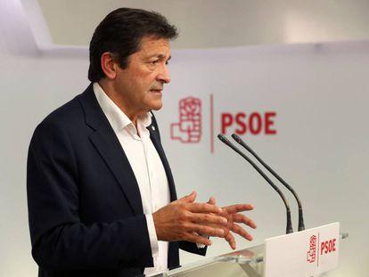 Javier Fernandez, chair of the PSOE interim management team.