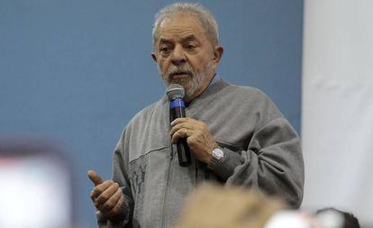 Lula da Silva earlier this month.