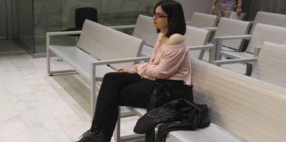 Cassandra during her High Court trial.