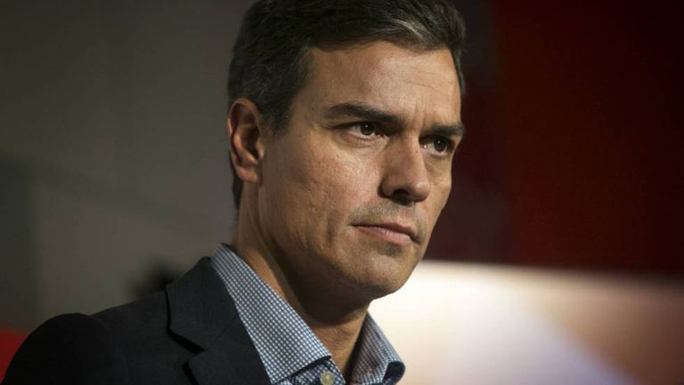 The leader of Spain's Socialist Party (PSOE), Pedro Sánchez.