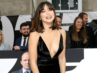 Ana de Armas at the world premiere of 'No Time to Die.'