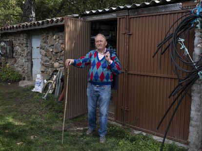 José Sanz, who lives in Horcajo de la Sierra