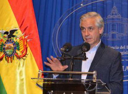 Bolivian Vice-President Álvaro García Linera.