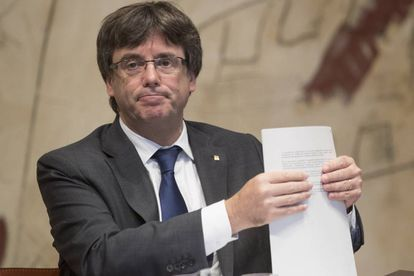 Catalan Premier Carles Puigdemont.