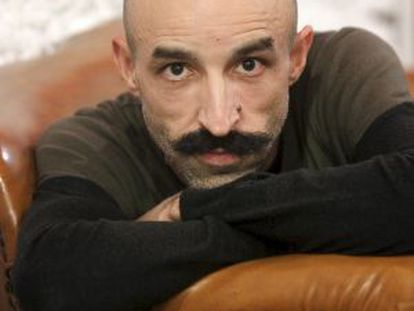 The writer Jesús Carrasco.