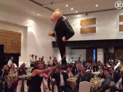We re just reflecting the feelings of most Mexicans,  says senior politician over piñata incident