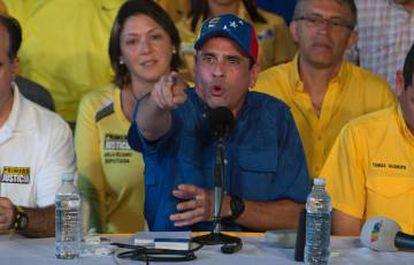 Opposition leader Henrique Capriles has asked Maduro for a public statement regarding his nephews' conviction.