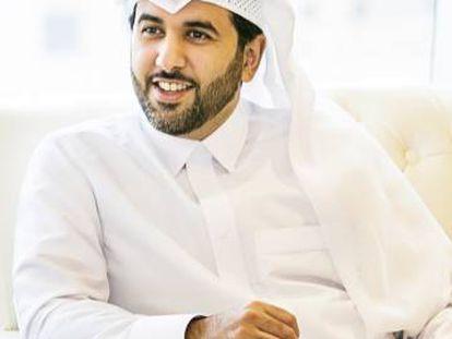The director of the Qatari Government Communications Office Saif al Thani.