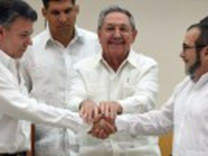 Santos government and rebels reach historic deal on transitional justice during Havana talks
