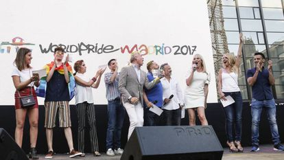 The 'pregón', which officially kicked off World Pride Madrid 2017 on Wednesday.