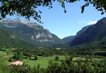 Valley of Hecho, a gem nestled in the Pyrenees in Spain's Aragón region.