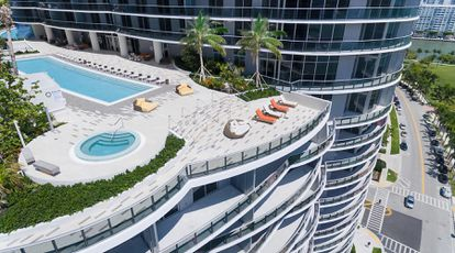 The Aria on the Bay residential complex in Miami.