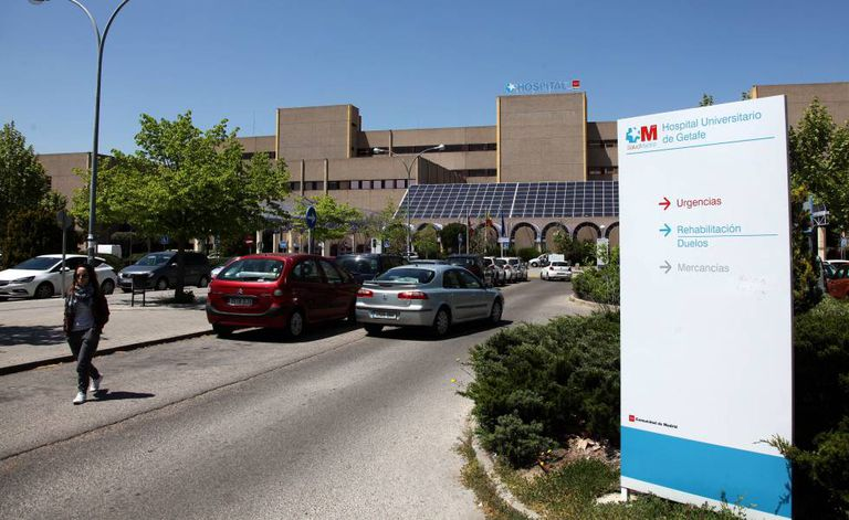University Hospital of Getafe, near Madrid.
