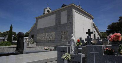 The Franco-Polo family mausoleum in the Mingorrubio cemetery, in Madrid's Pardo district.
