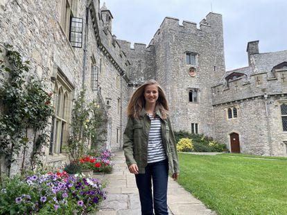 La princesa Leoner llega a UWC Atlantic College en Gales el lunes.