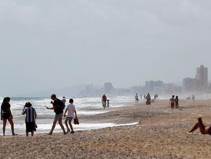 El Saler beach in Valencia.