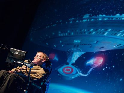 Stephen Hawking is closely associated with Starmus.