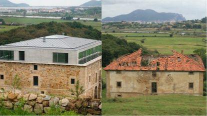 Casa de los Godos in Carasa.