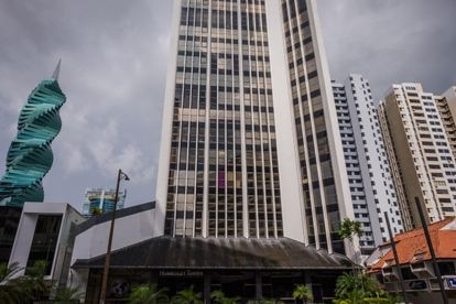 The Torre Humboldt, home to the offices of Alcogal in Panama.