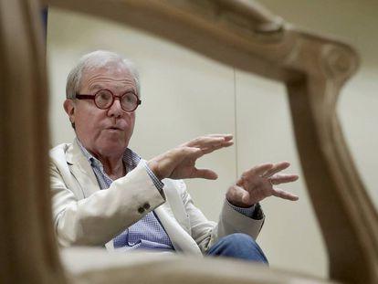 Nicholas Negroponte in Madrid on Wednesday.