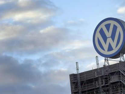 The headquarters of VW in Wolfsburg.