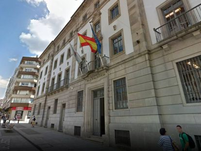 The Provincial Court in Pontevedra.