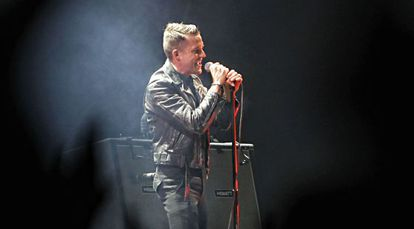 The Killers headlined Saturday night to a rapturous response from the Dcode audience.