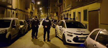 Local police in Palma, where 10% of the force is now under suspicion.