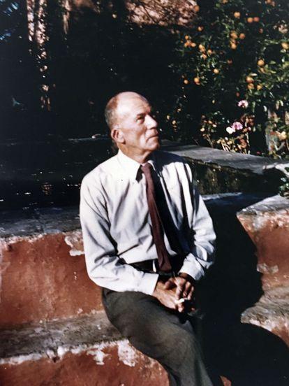 Gerald Brenan, in Churriana.