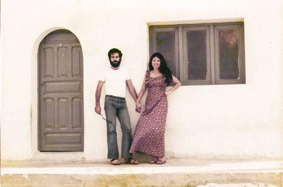 Sanmao and her husband José María Quero.