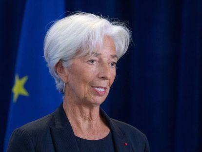 BCE chief Christine Lagarde.