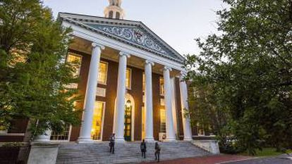 The top-rated Harvard Business School.