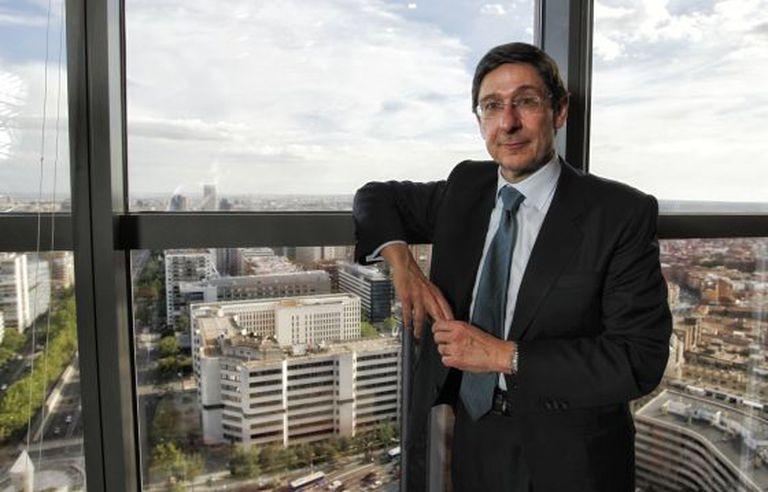 Bankia Chairman José Ignacio Goirigolzarri.