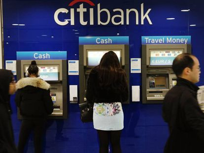A small unit of Citigroup has moved its headquarters to Spain.