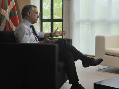 Basque regional premier Íñigo Urkullu.