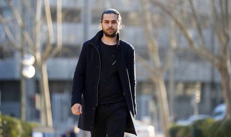 Syrian refugee Khaled al Dieri, now in Madrid.