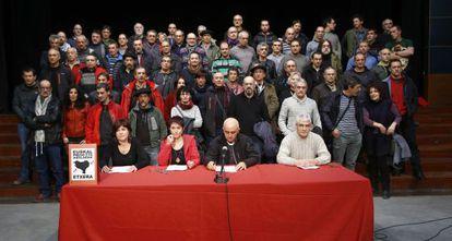 Acto de presos de ETA en Durango.